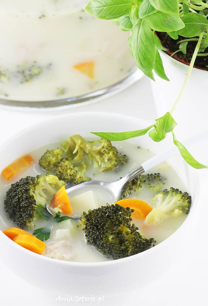 Zupa brokułowa , 8
