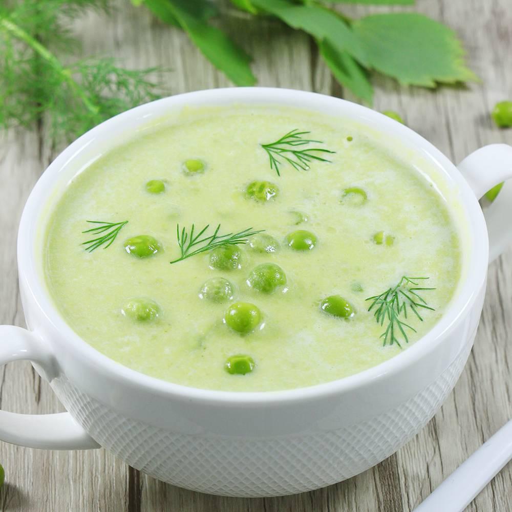 Zupa krem z groszku